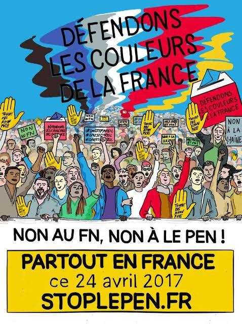 Marine Le Pen au 2nd tour : MOBILISONS-NOUS !