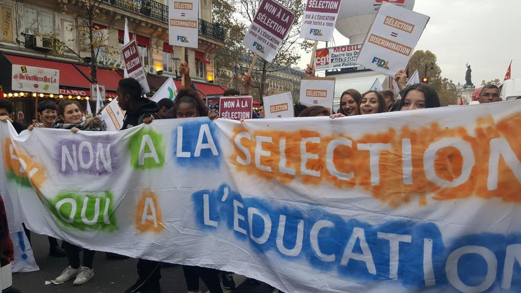 Sélection à l'université : la FIDL appelle à la poursuite de la mobilisation !